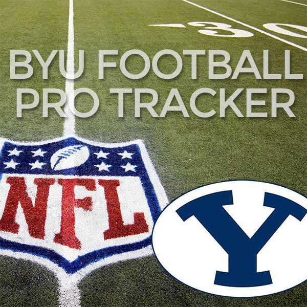 Several Cougar Alums go Head-to-Head.  BYU Pro Football Tracker: Week 14