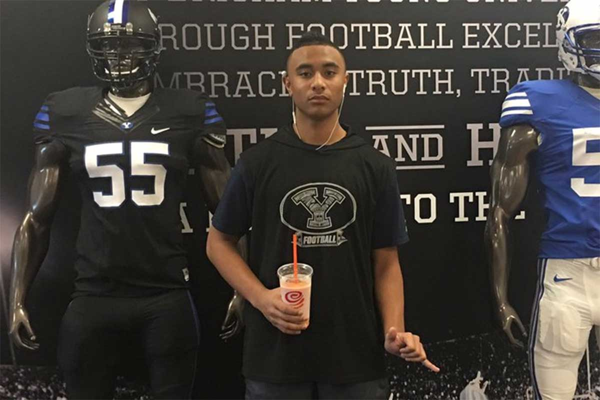 Ricky Wolfgramm becomes 3rd eighth grader to commit to BYU football Class of 2021