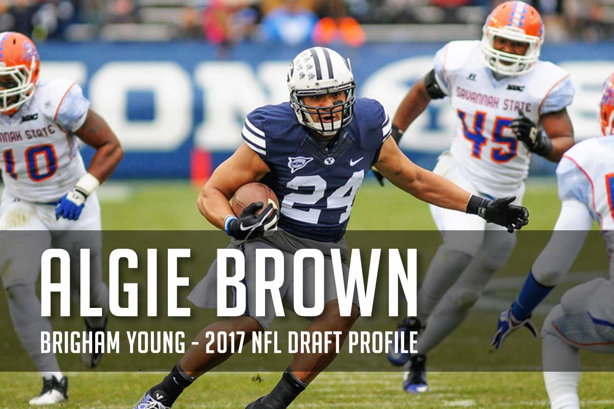 "NFL Draft Prospect: Algernon ""Algie"" Brown's 2017 NFL Draft Profile"
