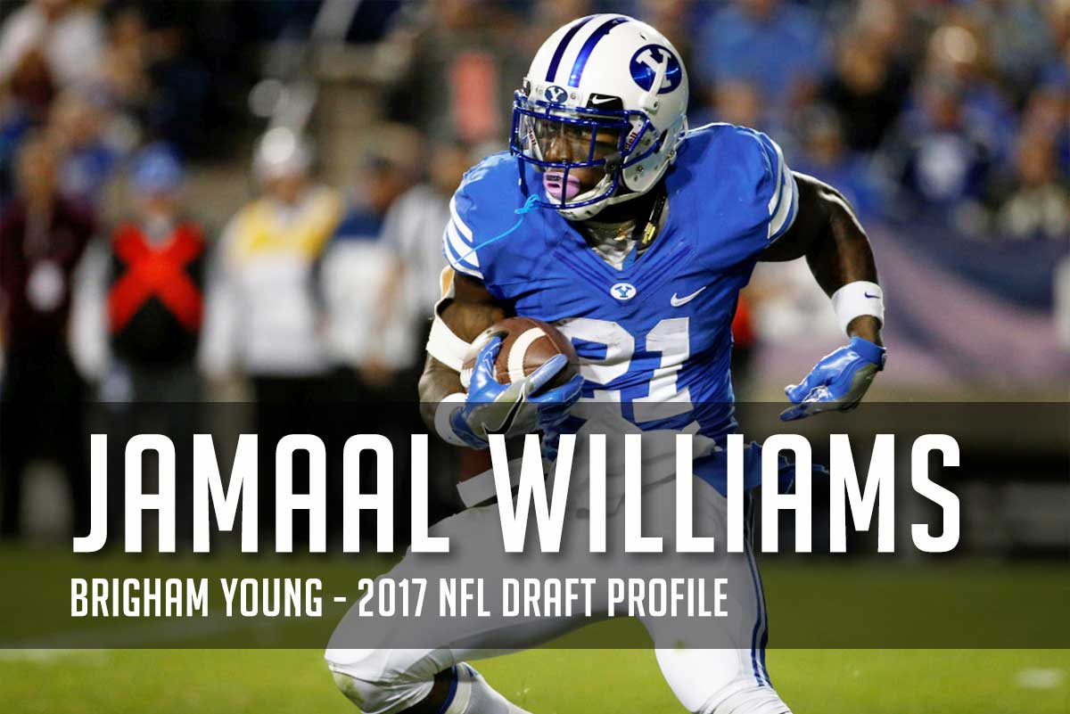 Is BYU's Jamaal Williams draft stock on the rise? 2017 NFL Draft Profile