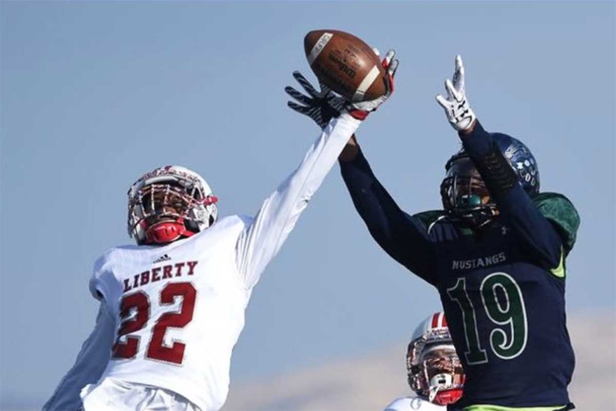 Liberty (NV) Safety Allan Mwata Commits to BYU (Class of 2018)
