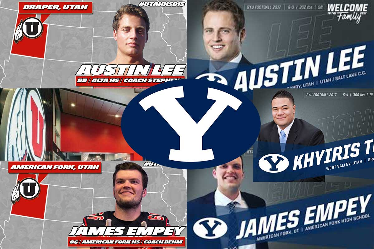 BYU Football Making Great Strides in the In-State Recruiting Battle as the University of Utah exodus continues