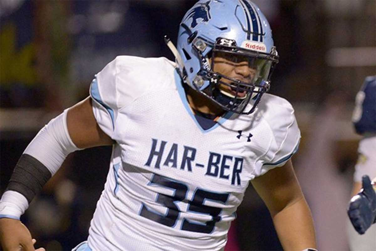 3-Star LB Oliver Nasilai chooses BYU over Oklahoma State (Class of 2018)