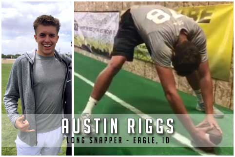 BYU gets a commit from long snapper Austin Riggs (Class of 2018)
