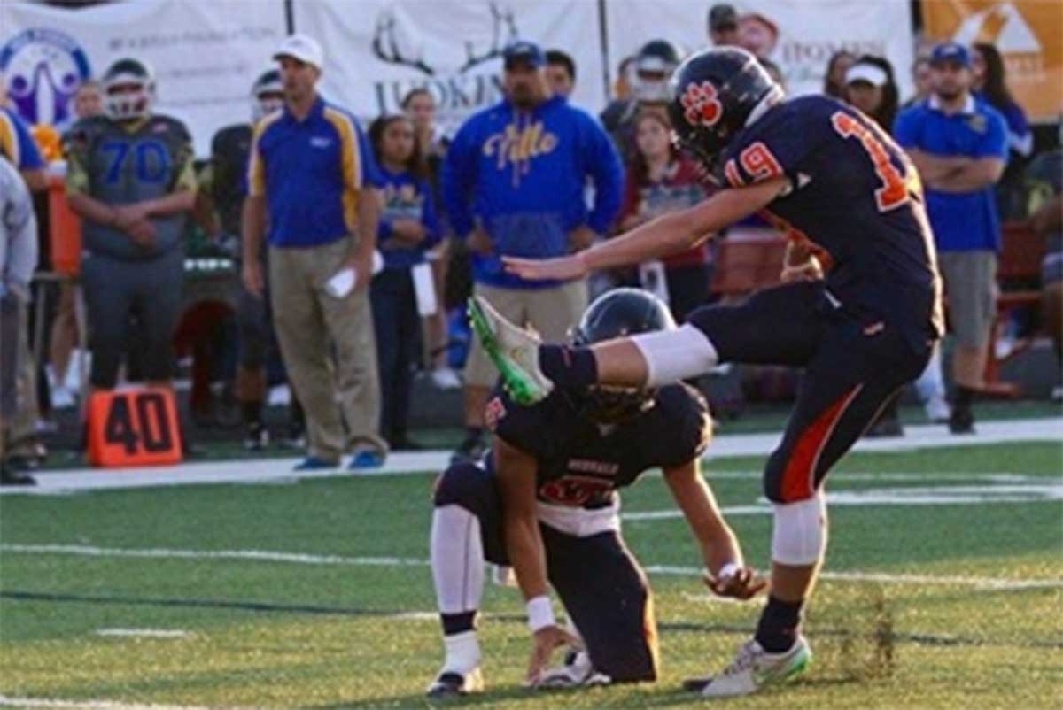 Getting to know new BYU Football commit, Brighton kicker Justen Smith (Class of 2018)