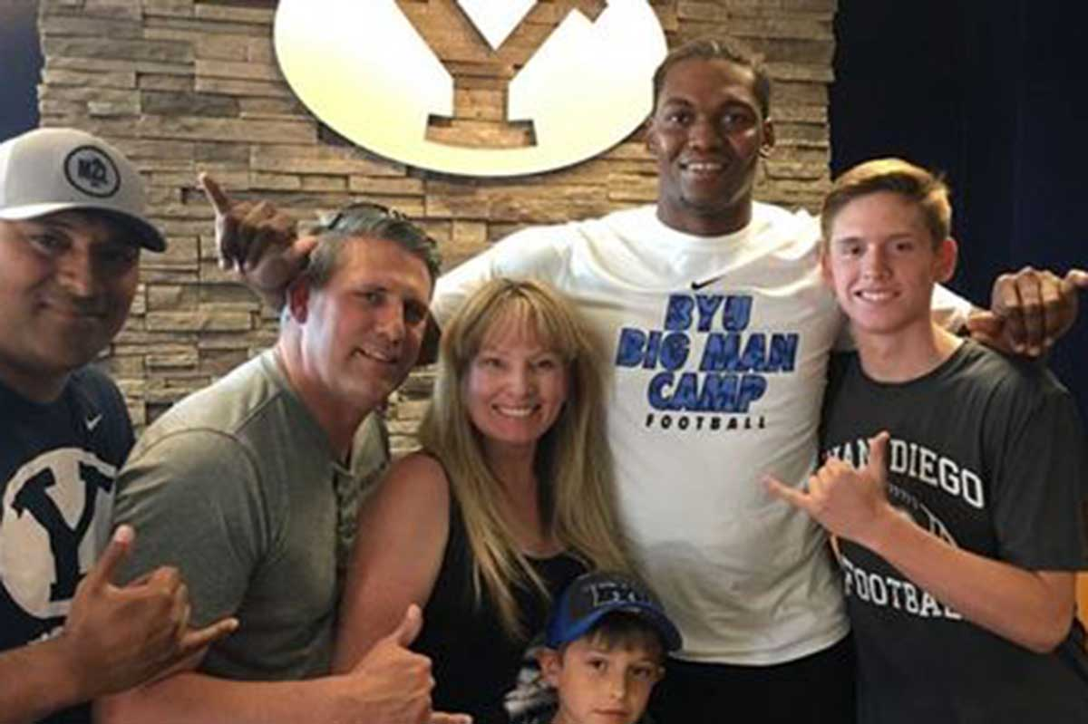 BYU sees big upside in Newest Commitment Juan Diego lineman Chinonso Opara (Class of 2018)