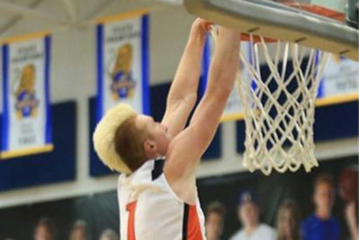 Hunter Erickson chooses BYU Basketball over the University of Utah (Class of 2018)