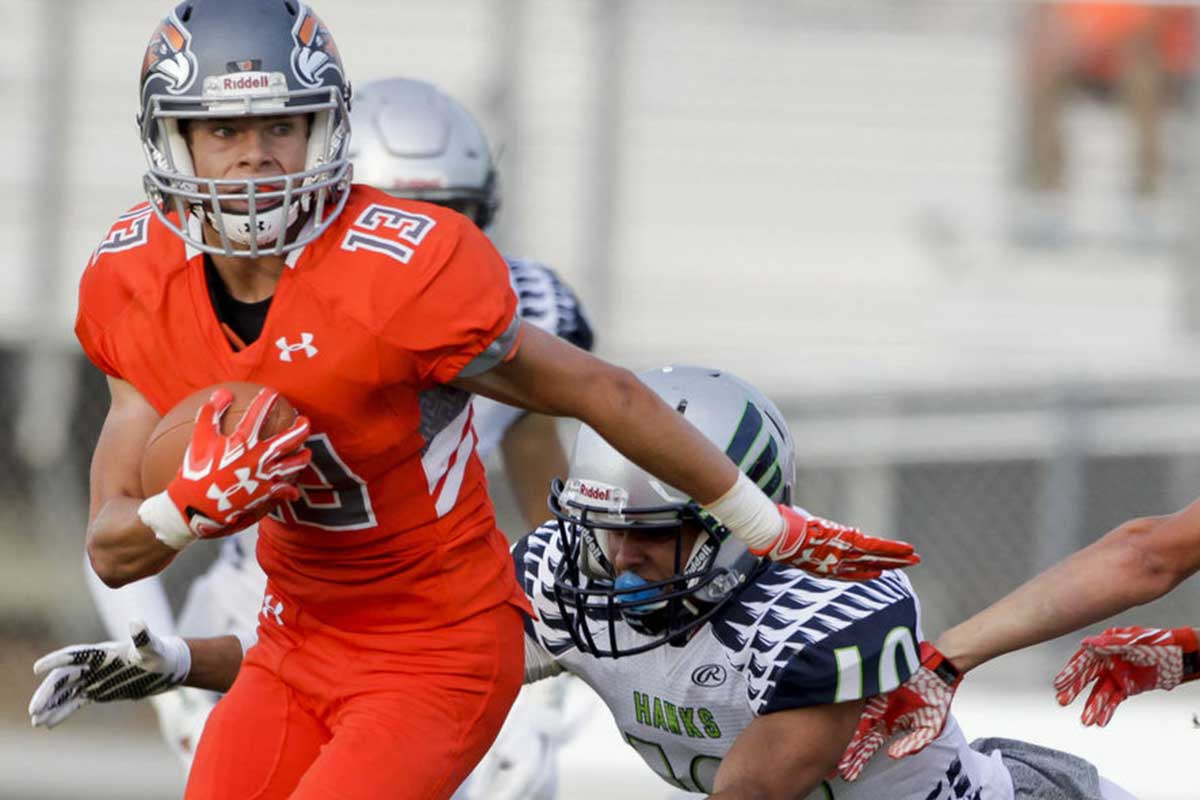 Skyridge RB/CB Alex Palmer commits to BYU (Class of 2018)