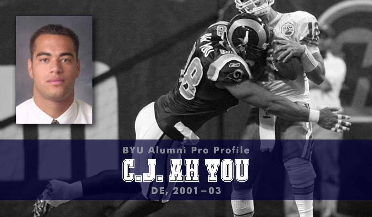 Pro Profile: C.J. Ah You (DE, 2001-03)