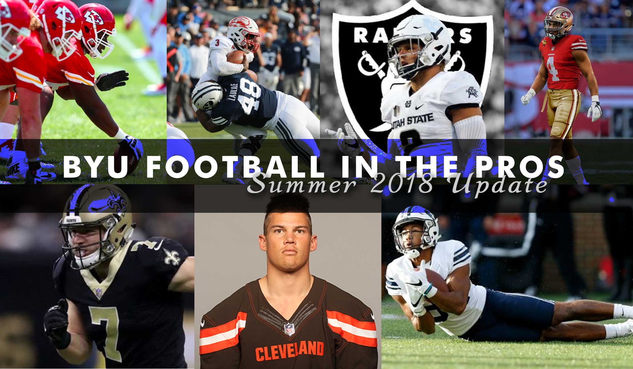 BYU Football in the Pros: Summer 2018 Update