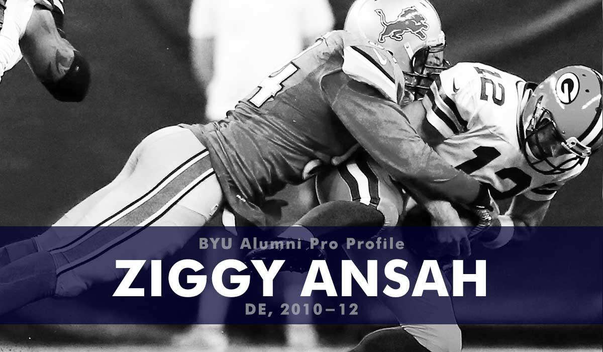 Pro Profile: Ziggy Ansah (DE, 2010-12)