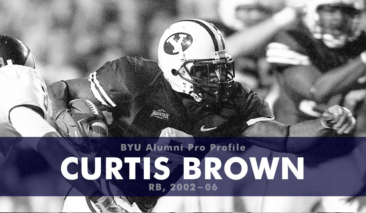 Pro Profile: Curtis Brown (RB, 2002-06)