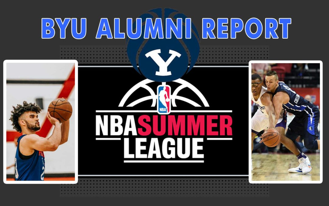 NBA Summer League Report for BYU Alumni Elijah Bryant and Kyle Collinsworth