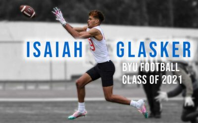 Getting to know BYU football signee, Isaiah Glasker (WR/DB, Class of 2021)
