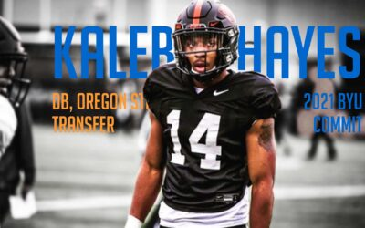 Getting to know incoming BYU football transfer, Oregon State DB Kaleb Hayes (Class of 2021)