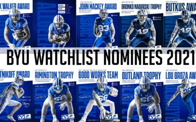 The 2021 BYU Football Watch List Compilation